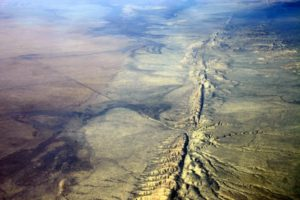 San Andreas Fault Line