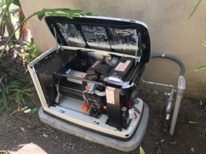 A Generator Installed in Malibu Reduces Risk of Blackout